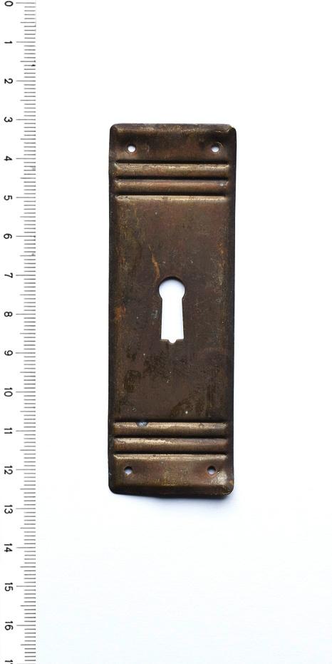 Schlüsselbeschlag antik messing Schlüsselschild Möbel 31