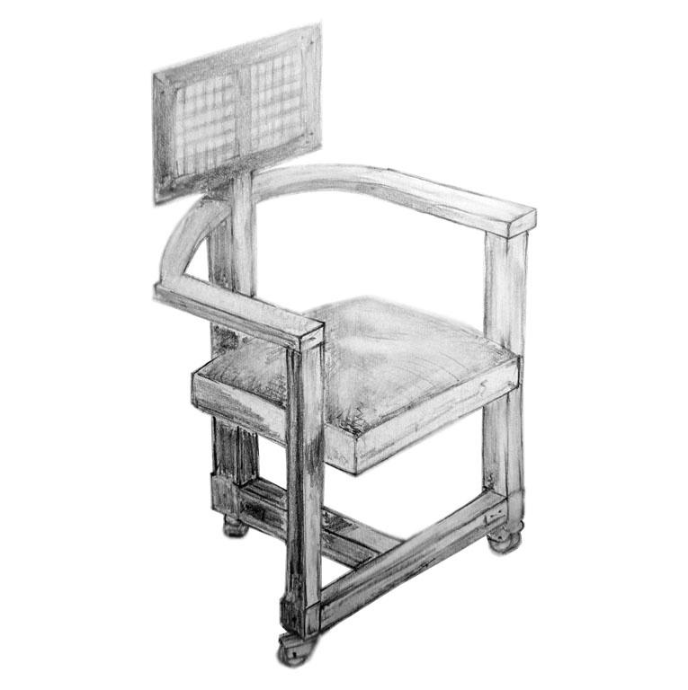 Möbel Design , Francis Lloyd Wright