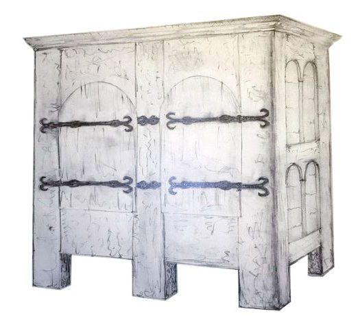 Möbelstile von der Romanik und Gotik
