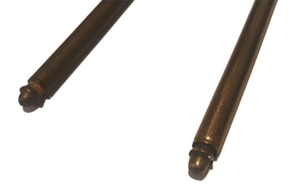 Treppenläufer Stangen antik alt Messing 1.11 x 80cm - 137