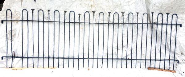 Gartenzaun gebraucht Zaunfeld Eisen Vintage 237 x 76cm Nr.231