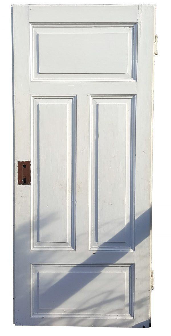 Alte Türe antik weiß Holz für Upcycling Altbaurenovierung