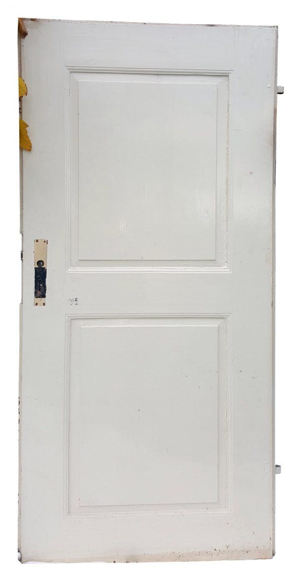 Alte Tür in weiss für Upcycling Restauration Deko Vintage Holztür Nr.247