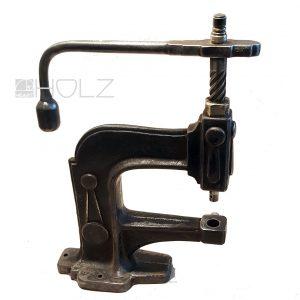 Spindelpresse Knopfpresse Knopfmaschine Knöpfe beziehen Vintage