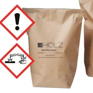 Weißfeinkalk gebrannter Kalk Branntkalk Pulver Calciumoxid Sumpfkalk herstellen