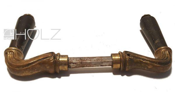 Türgriffe antik Jugendstil Türklinke alt Türdrücker Messing Horn