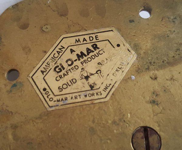 Handtuchhalter antik american craft Messing massiv groß Bad Vintage