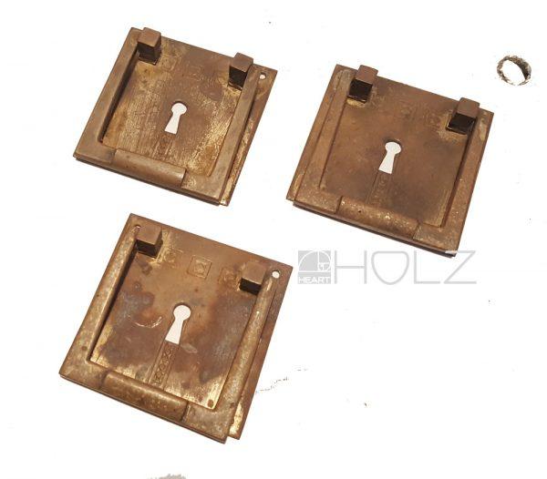Möbelbeschlag antik Bronze alt Art Deco Jugendstil Beschläge Möbelgriff