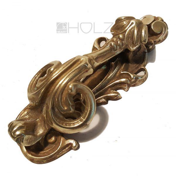 Türklopfer antik Messing crafts art UK Türbeschlag Handwerkskunst