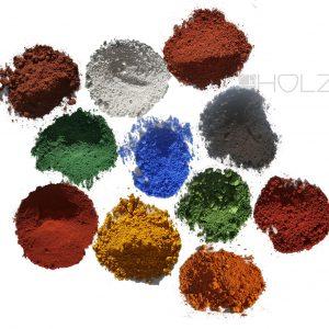 Farbpigmente Farbpulver Anorganische Pigmente Trockenfarbe