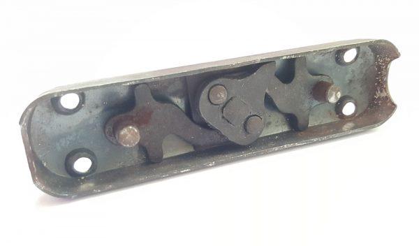 Basküle Fenstergriff alt Stahl 1930er Fensterolive Eisen Getriebe Fenster