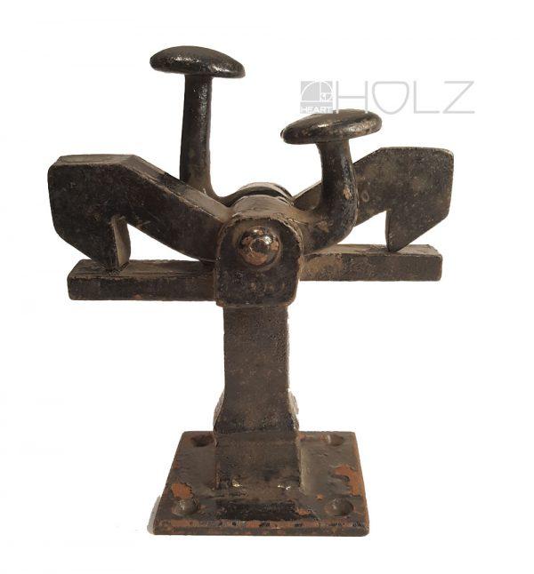 Türstopper antik Türhaken alt Schmiedeeisen massiv Eisen 1.2kg