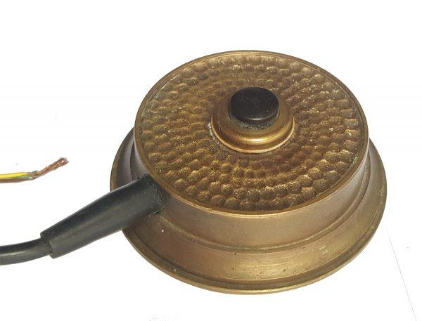 Klingel antik Rezeption Theke Messing Tischklingel