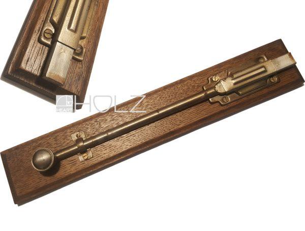 Schieberiegel antik Türbeschlag Riegel alt Eisen Tür 31cm