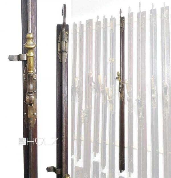 Basküle antik Schwengelgriff alt Fanghaken und Einreiber 122 cm