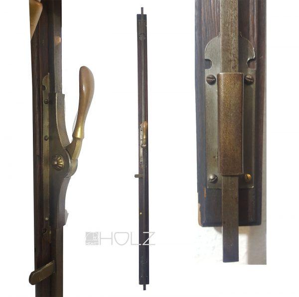 Jugendstil Basküle Antik Fenster Verriegelung alt 1920er 138 cm