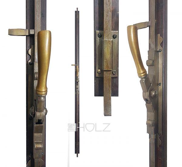 Fenster Basküle antik Jugendstil Verschluss alt Einreiber 182 cm