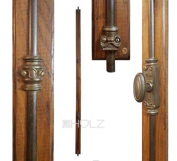 Basküle antik Frankreich Eisen Fenster Verriegelung 168 cm