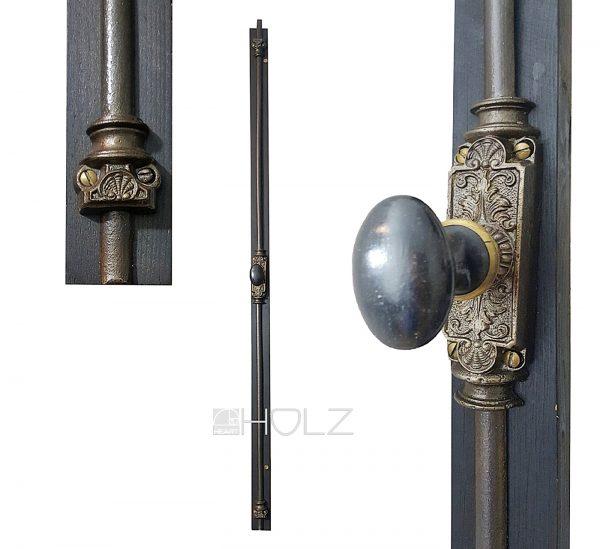 Fenster Basküle antik Gründerzeit Stangenverschluss alt 119 cm