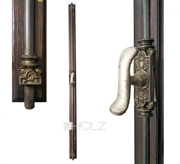 Fenster Jugendstil Basküle antik Fensterolive Einreiber alt 118cm