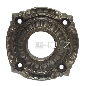 Drückerrosette antik Gusseisen alt 48mm Türdrücker Türklinke