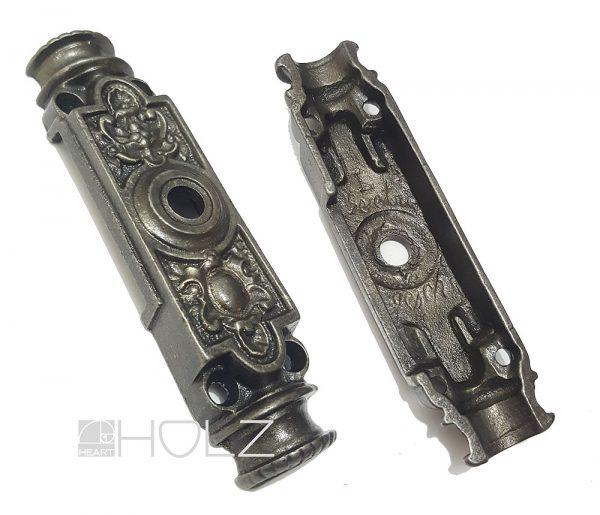 Basküle Getriebe Kasten antik alt Links Einreiber