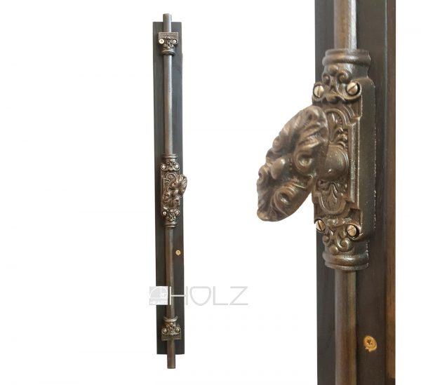 Fenster Basküle antik Gestänge alt Gründerzeit 58cm