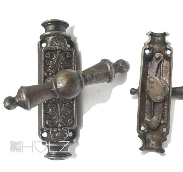 Basküle antik Fensterolive Getriebe alt Gusseisen 14
