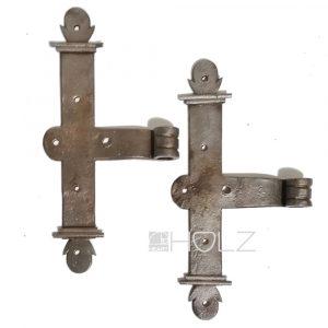 Kreuzband Paar Türband antik Torband Klobenband alt 13er Dorn